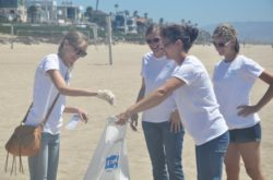 Local Internet Marketing company Wpromote partnered up with Heal The Bay for a beach cleanup in El Porto (Photo by South Bay Events).