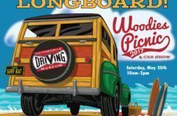 Woodies Picnic and Vintage Surf-Board Car Show Presented by Automobile Driving Museum