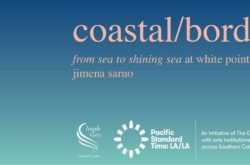 "from sea to shining sea"" (FSTSS) is a sculpture, video and sound installation at Angels Gate Cultural Center"