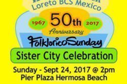 "In 1967 Hermosa Beach formed a ""sister city"" relationship with the city of Loreto, in Baja California Sur, Mexico."
